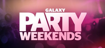 Galaxy Party Weekends