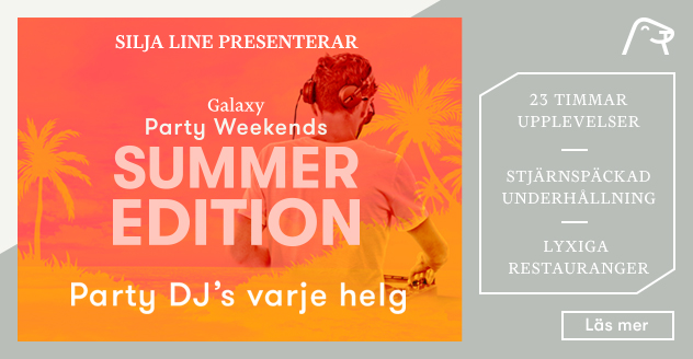 Party Weekends sommar 2018
