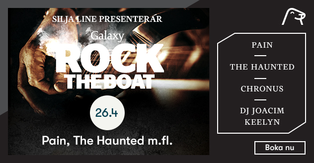 Rock-kryssning Rock The Boat med Pain & The Haunted
