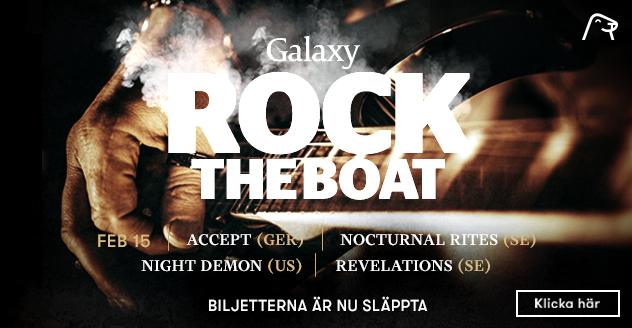Rock the Boat på Silja Galaxy