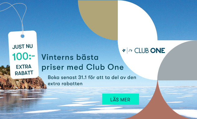 Vinterns bästa priser 2019 med Club One