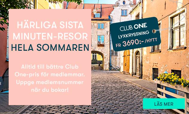 155ee654872d Club One - bonuspoäng & erbjudanden - Tallink & Silja Line